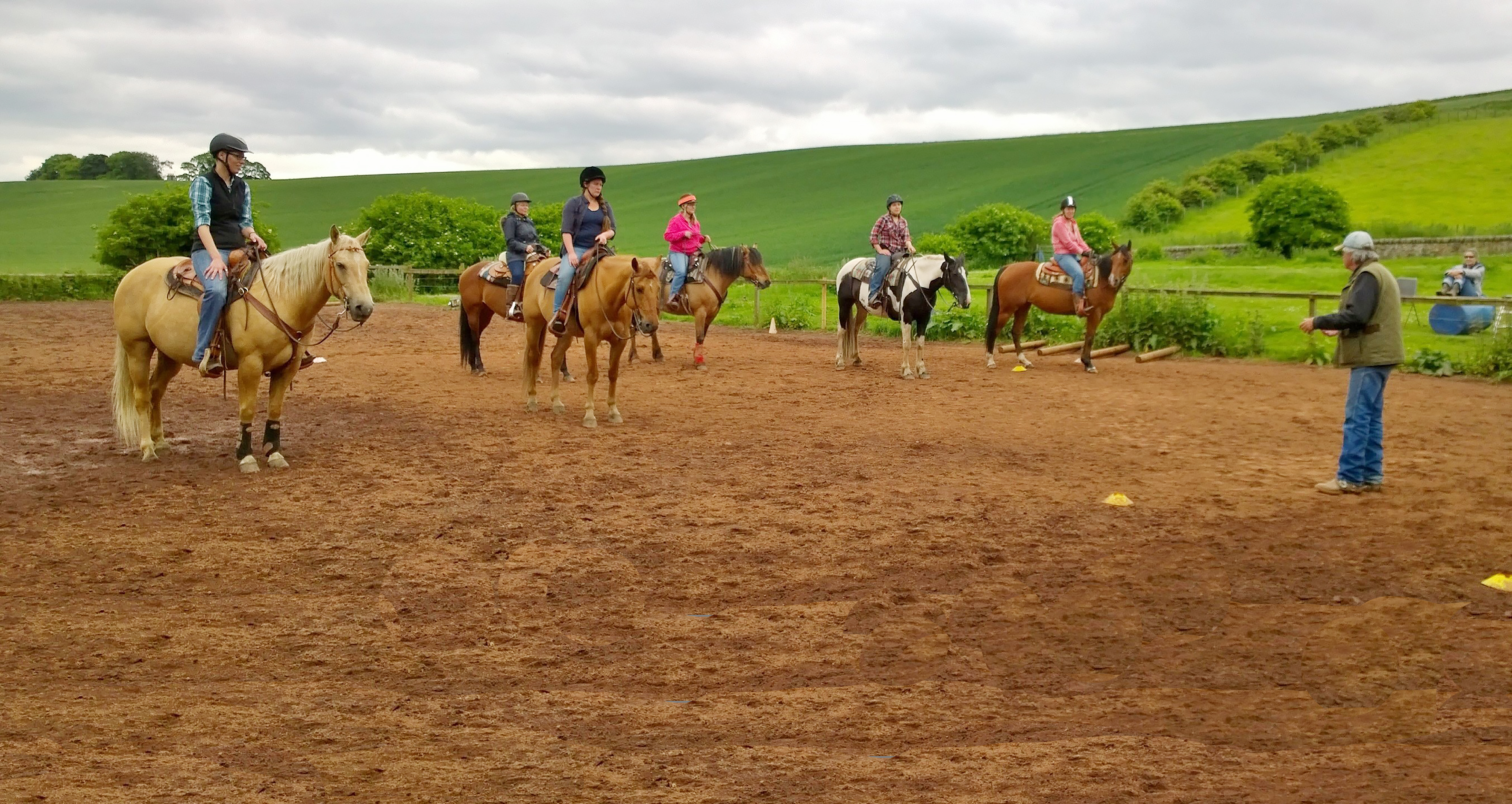 John's major passion is to promote Western riding, and to support people who train their own horses
